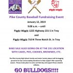 PCHS Baseball Fundraising Event