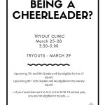 Attention– Cheer Tryouts