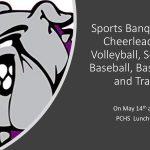 Sports Banquet Info. Update