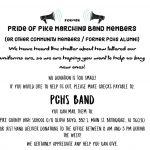 Calling All Former Pride of Pike Band Members …