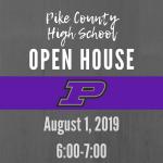 PCHS Open House