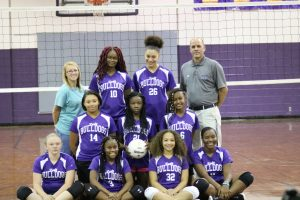 2019 JV Volleyball Team