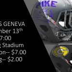 PCHS vs Geneva Friday Night
