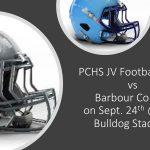 PCHS JV Football vs Barbour Co.