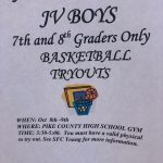 JV Boys Basketball Tryouts