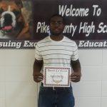 Congratulations Isiah!!!