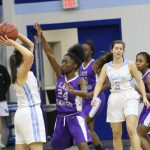 Girls Varsity Basketball falls to Houston Academy 43 – 39