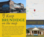 Your participation in the Census is important for Brundidge to stay a city!