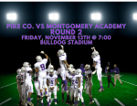 Attention Fans: PCHS vs Montgomery Academy