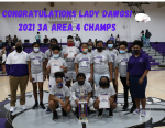 Congratulations Lady Dawgs 3A Area 4 Champs!!!