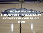 PCHS Guys vs Houston Academy