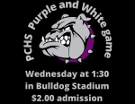 Purple and White Game