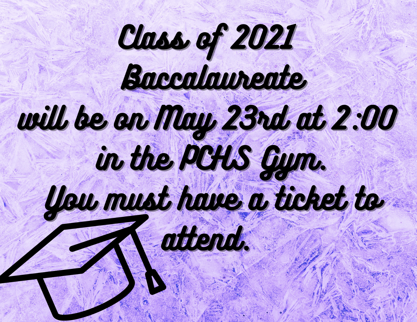 PCHS Baccalaureate Information
