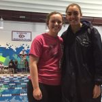 Girls Varsity Swimming finishes 5th place at League Championship @ Cheyenne Mountain High School