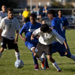 Carman-Ainsworth High School Boys Varsity Soccer beat Flint Southwestern Academy 8-0