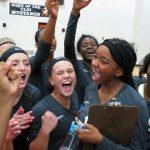 Carman-Ainsworth High School Girls Varsity Volleyball beat Clio High School 3-2