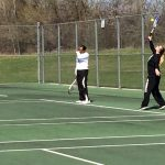 Carman-Ainsworth High School Girls Varsity Tennis finishes 3rd place