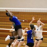 Girls Varsity Volleyball falls to Davison 3 – 1