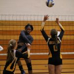 Girls Varsity Volleyball beats Lakeville High School – Otisville 3 – 0