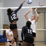 Girls Varsity Volleyball beats Bay City Central 3 – 0 in Conference Crossover Match