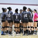 Carman-Ainsworth Varsity Volleyball loses in the Silver Quarterfinals at Stoney Creek's Cougar Invite