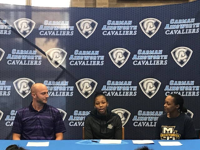 Destiny Strother signs National Letter of Intent for Marquette University