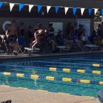 Mesquite High School Boys and Girls Varsity Swimming drops contest to Mesa High School