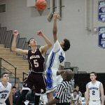 Mesquite High School Boys Varsity Basketball falls to Nogales High School 44-72