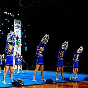 Cheer Competes at Nationals