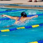 Girls Varsity Swimming beats Gilbert Classical Academy 96 – 87
