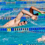 Boys Varsity Swimming falls to Campo Verde 113 – 71