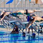 Boys Varsity Swimming falls to Dobson 101 – 82