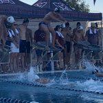 Boys Varsity Swimming falls to McClintock 111 – 69