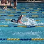 Boys Varsity Swimming finishes beats Tempe Prep, falls to Gilbert