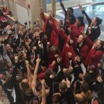 Grand Blanc High School Girls Varsity Swimming finishes 2nd place