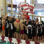 Grand Blanc High School Boys Varsity Swimming finishes 2nd place