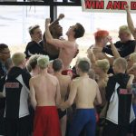 Grand Blanc High School Boys Varsity Swimming finishes 1st place