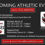 Grand Blanc hosts Boys Basketball Regional