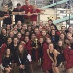 Grand Blanc High School Girls Varsity Swimming finishes 1st place