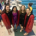 Girls Varsity Swimming finishes 7th place at KLAA Conference