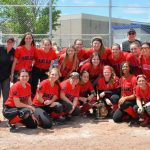 Grand Blanc Varsity Softball wins Districts!!!