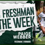 Big Ten Freshman of the Week: GB Alum – Paige Webber!