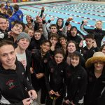 Boys Swimming finishes 2nd place at Pangborn Invitational