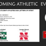 Division I Football Early Signing Press Conference