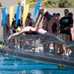 Chaparral High School Girls Varsity Swimming beat Boulder Creek High School 92-91
