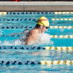 Chaparral High School Boys Varsity Swimming falls to Boulder Creek High School 78-105