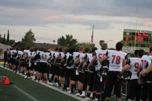 Varsity Football:  Chaparral vs Horizon 8/26/16