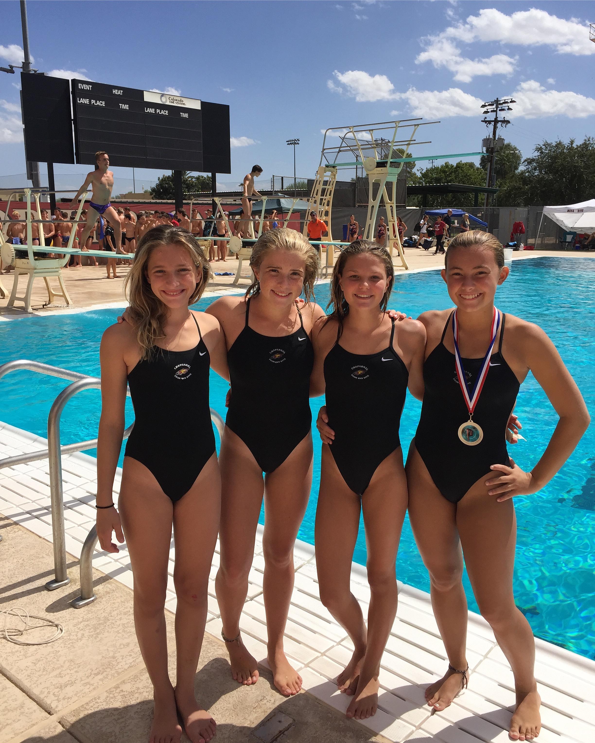 brophy high school swim meet