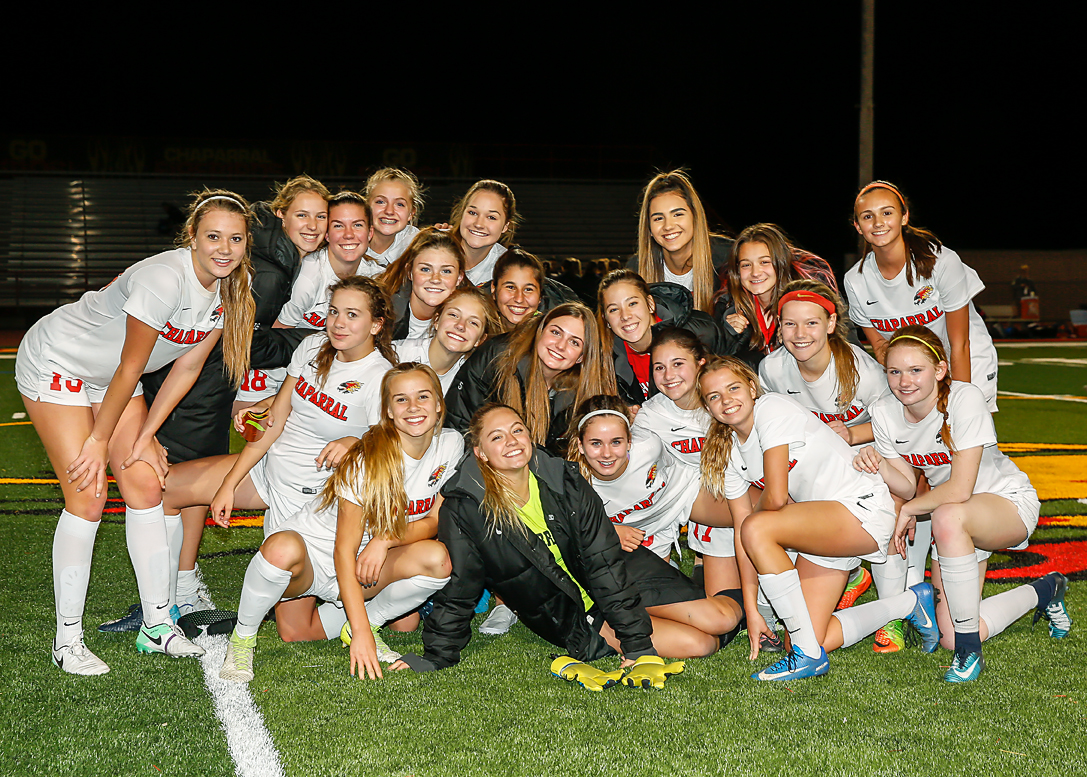 Chaparral Girl's Soccer Advances to Championship Game