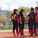 Girls Varsity Softball falls to Arcadia 9 – 2